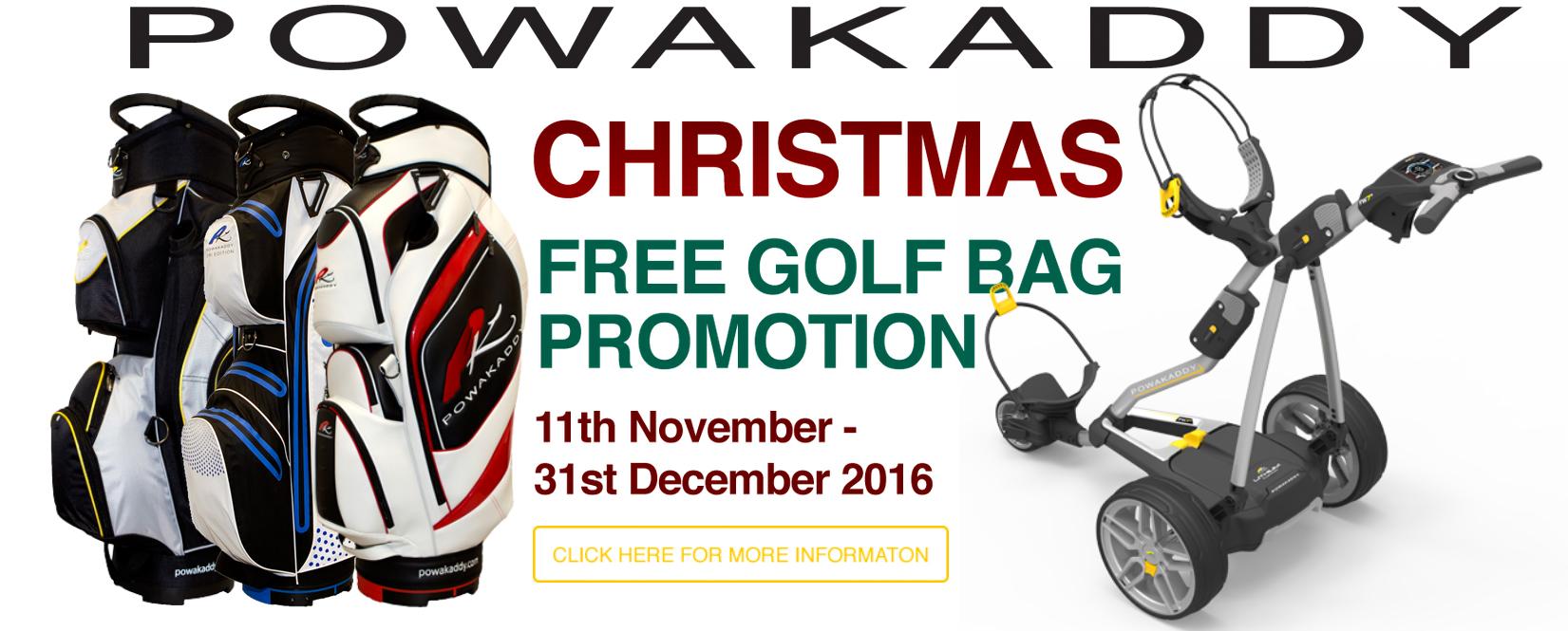 Powakaddy free bag deal