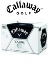 Callaway Golf Solaire White Golf Balls 1 Dozen