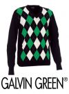 Galvin Green Cayman Sweater Black/Green/White