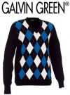 Galvin Green Cayman Sweater Black/Blue/White