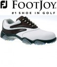 Footjoy SYNR-G Shoes White/Brown 53923