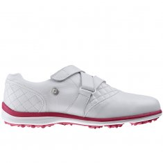 FootJoy Casual Collection Ladies Shoes White/Fuchsia 97711