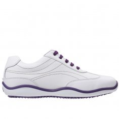 FootJoy LoPro Casual Ladies Shoes White/Purple 97247