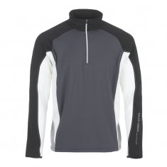 Galvin Green Don Pullover Iron Grey/Black/White