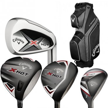 Callaway X Hot Package Set With FREE GOLF BAG
