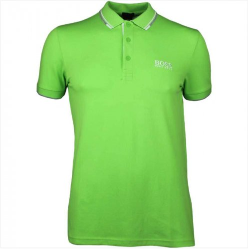 f6824a3f3 Hugo Boss Paddy Pro Polo Shirt Green Flash