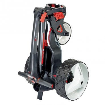 Motocaddy M1 DHC Trolley With Extended Holes Lithium