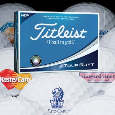 Titleist Tour Soft Printed With Logo (Minimum 12 Dozen)