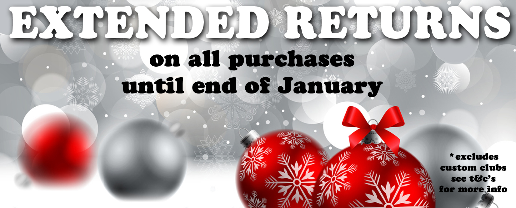Christmas Extended Returns