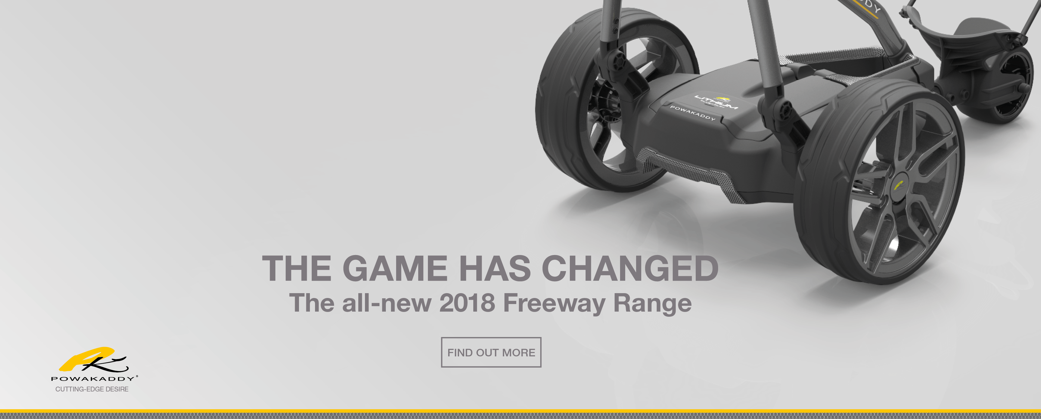 Powakaddy all new freeway 2018