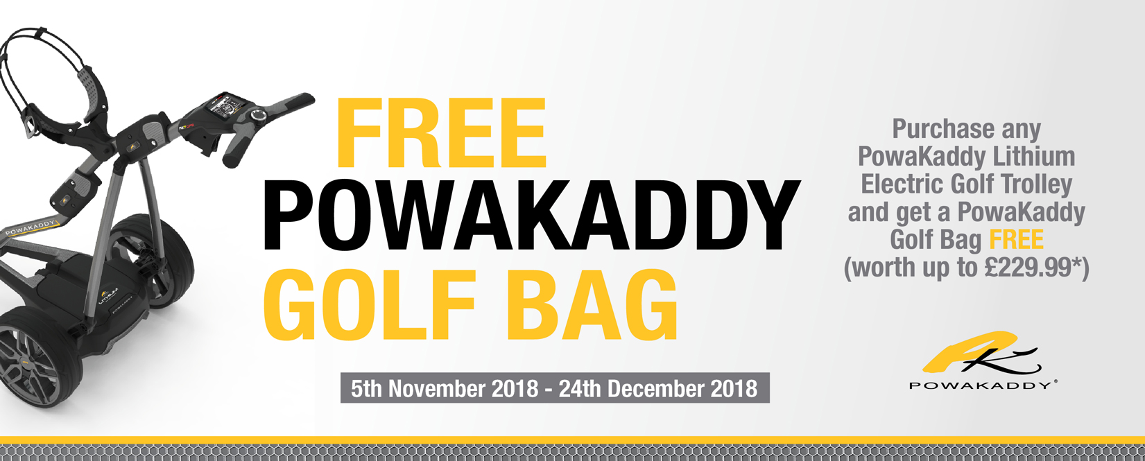Powakaddy free bag deal 2018