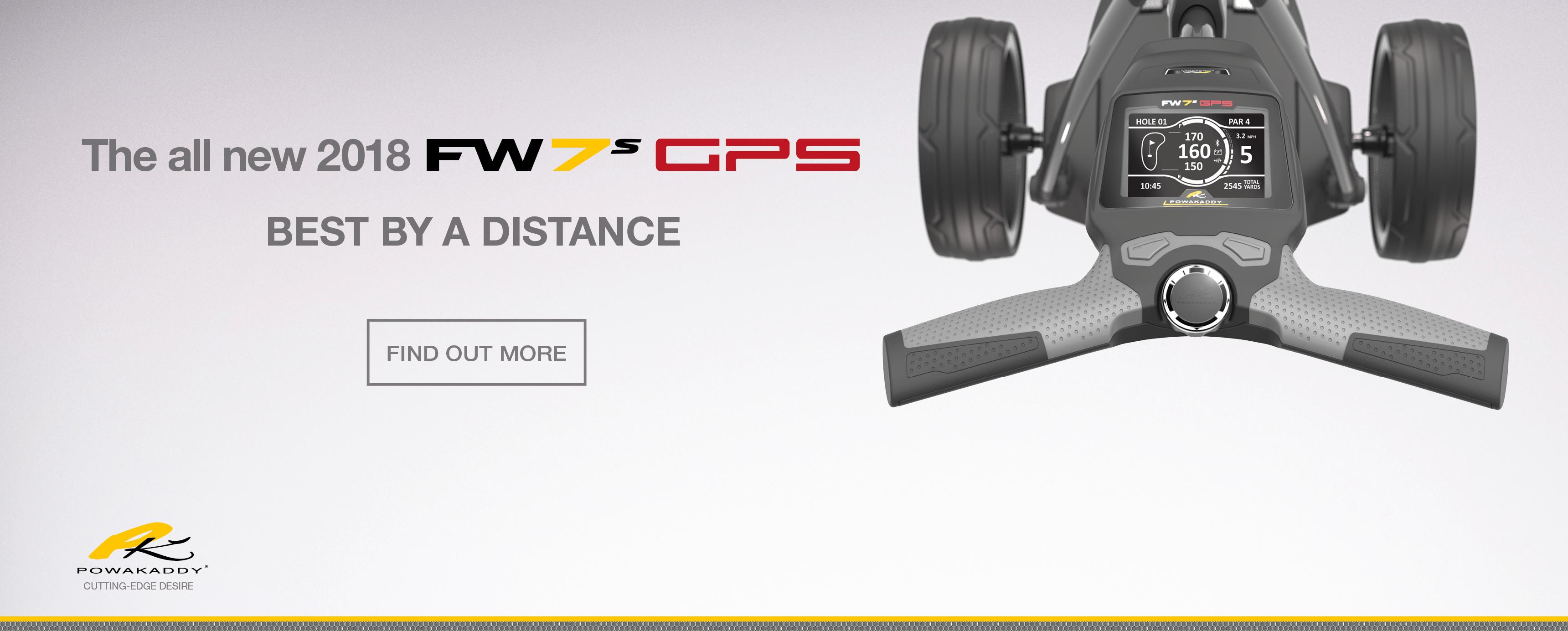 Powakaddy FW7s GPS 2018