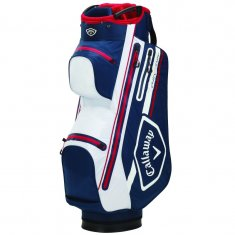 Callaway Chev Dry 14 Cart Bag Navy/White/Red