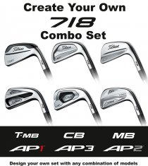 Titleist 718 Irons Create Your Own Combo Set