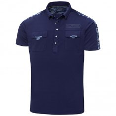 Galvin Green Edge Colonel Shirt Ensign Blue