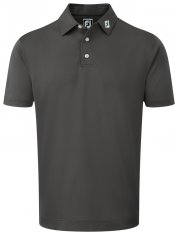 Footjoy Stretch Pique Shirt Charcoal