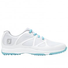 FootJoy Leisure Ladies Golf Shoes White/ Blue 92914