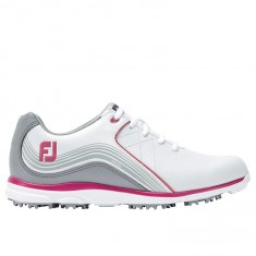 FootJoy Pro SL Ladies White/ Grey/ Fuchsia 98101