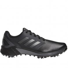 adidas ZG21 Golf Shoes Black/Silver/Grey FW5544