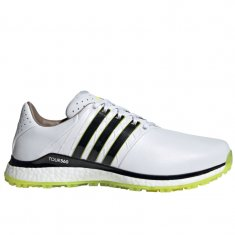 adidas Tour 360 XT-SL 2.0 Golf Shoes White/Black/Yellow FW5593