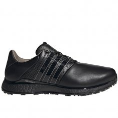 adidas Tour 360 XT-SL 2.0 Spikeless Golf Shoes Black/Metallic/Black FW5927