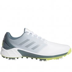 adidas ZG21 Golf Shoes White/Yellow/Blue FX6626