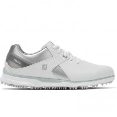 FootJoy Pro SL Ladies Golf Shoes White/Silver/Grey 98114