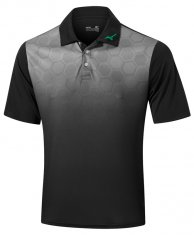 Mizuno Gradient Hexagon Polo Black