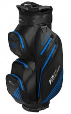 Powakaddy Dri Tech Waterproof Cart Bag Black/Gun Metal/Blue
