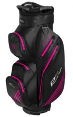 Powakaddy Dri Tech Waterproof Cart Bag Black/Gun Metal/Hot Pink