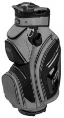 Powakaddy Premium Tech Cart Bag Heather/Black/Silver