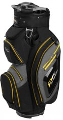Powakaddy Premium Tech Cart Bag Black/Heather/Yellow