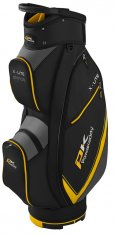 Powakaddy X Lite Cart Bag Black/Titanium/Yellow