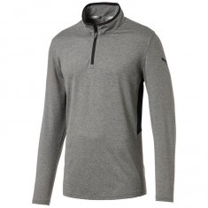 Puma Rotation Golf 1/4 Zip Pullover Grey Heather