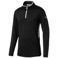 Puma Rotation Golf 1/4 Zip Pullover Black