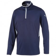 Puma Rotation Golf 1/4 Zip Pullover Peacoat