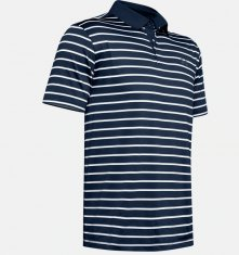 Under Armour Striped Performance Polo 2.0 Navy (409)