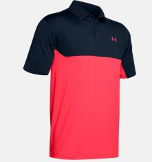 Under Armour Performance 2.0 Colourblock Polo Navy/Red (409)