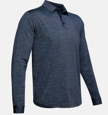 Under Armour Playoff Long Sleeve Polo Navy (408)