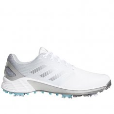 adidas ZG21 Golf Shoes White/Silver/Grey FW5545