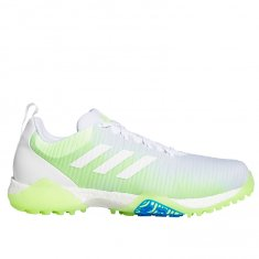 adidas CodeChaos Golf Shoes Cloud White / Signal Green / Glory Blue EE9101