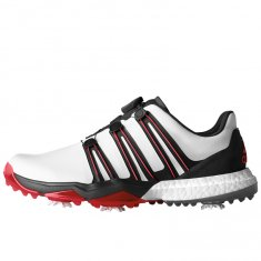 Adidas Powerband BOA Boost White/Core Black/Scarlet