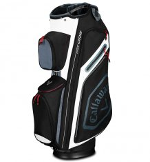 Callaway Chev Org Cart Bag Black/Titanium/White