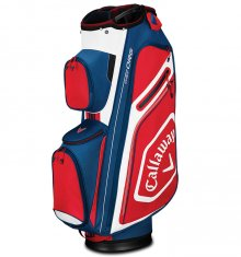 Callaway Chev Org Cart Bag Navy/White/Red