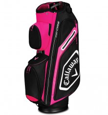 Callaway Chev Org Cart Bag Pink/White/Black