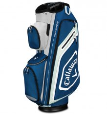 Callaway Chev Org Cart Bag Navy/Silver/Black