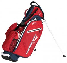 Callaway Hyper Dry Lite Stand Bag Red/Navy/White