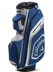 Callaway Chev 14+ Cart Bag Navy/Silver/White