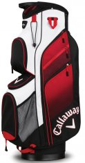 Callaway Chev Org Cart Bag Black/ Red/ White