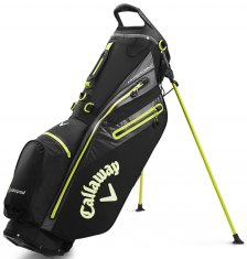 Callaway Hyper Dry C Double Strap Stand Bag Black/Yellow